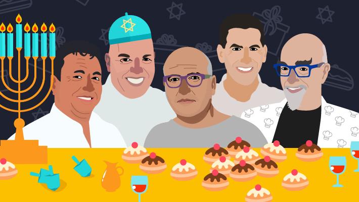 מתכונים לחנוכה של השפים המובילים בישראל