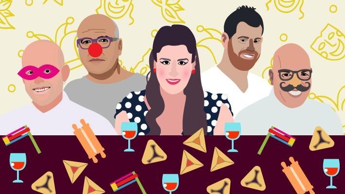 מתכונים לאוזני המן של השפים והאופים הכי טובים בישראל