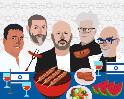 מתכונים ליום העצמאות ועל האש של השפים הכי טובים בישראל